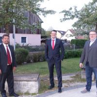 Volker Jung, Tobias Christau und Daniel Weidner